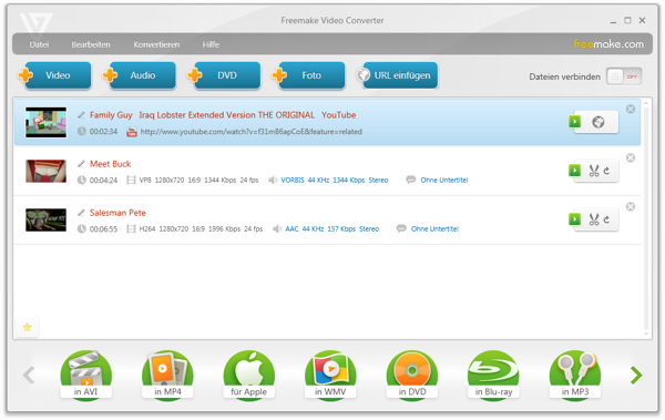 FreeMake Video Converter 3.1.1