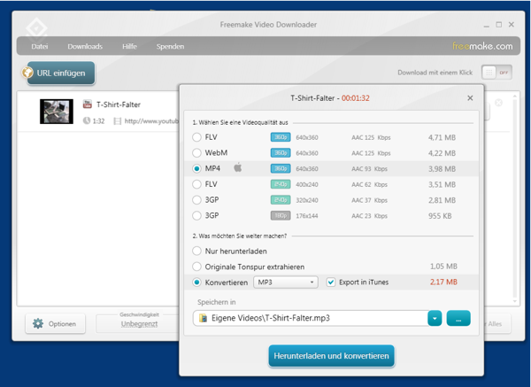 Freemake Video Downloader 3.5.0