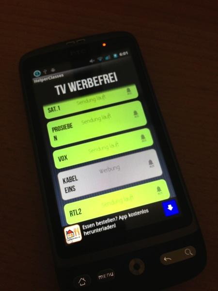 TV-Werbefrei