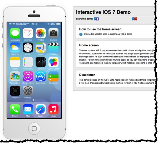 IOS 7 Demo