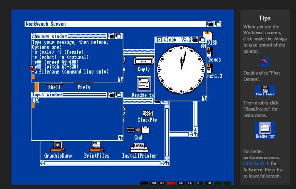 Amiga-Emulator im Browser