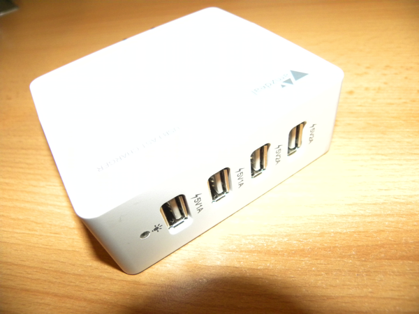 Review: 4 Port USB-Ladeadapter von AMZdeal