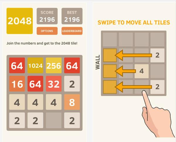 2048 – das Spiel für zwischendurch