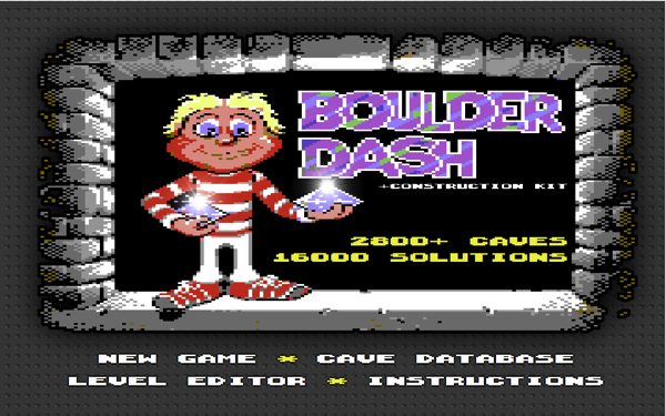 Boulder Dash Browser Version