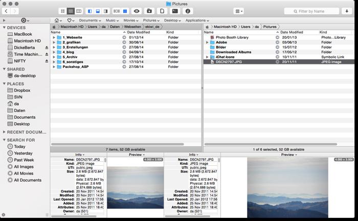 Pathfinder – Dateimanager für den Mac