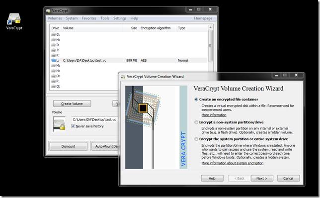 VeraCrypt–TrueCrypt Nachfolger für Windows, OSX und Linux