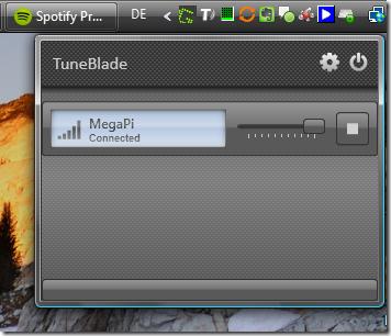 TuneBlade–Airplay unter Windows nutzen
