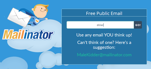 Mailinator–Wegwerf E-Mail-Adressen
