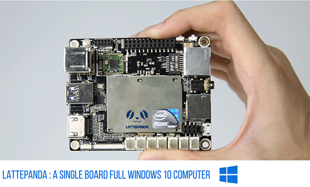 LattePanda – Windows 10 Minirechner