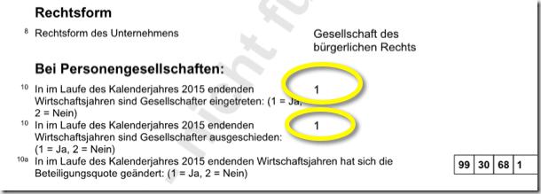 Bild: Voransicht Gewerbesteuererklärung vor Abgabe