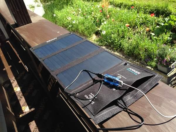 anker powerport usb solarladeger t ekiwi. Black Bedroom Furniture Sets. Home Design Ideas
