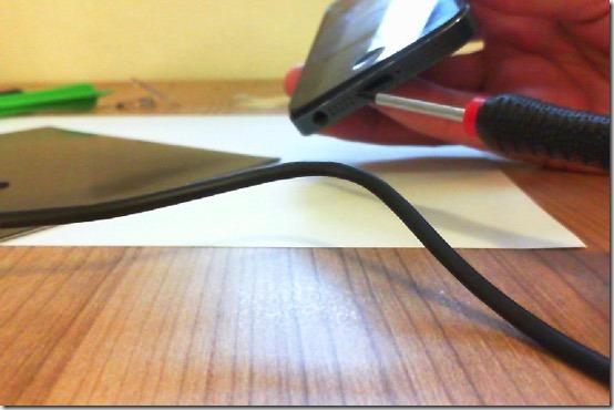 Foto zum Lösen der beiden Pentalobe Schrauben