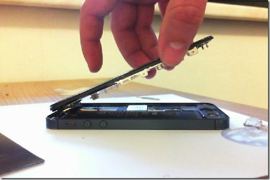 Foto Öffnen des iPhones