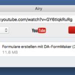 Airy – Youtube Downloader für den Mac