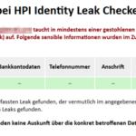 Leak Checker – Wurden meine persönlichen Daten ausgespäht?