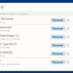 DiskDrill für Windows – Datenrettung für Festplatten, USB-Sticks, SD-Karten