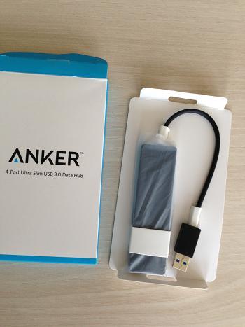 Flacher USB-Hub von Anker