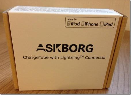 Verpackung des Askborg Lightning Connector