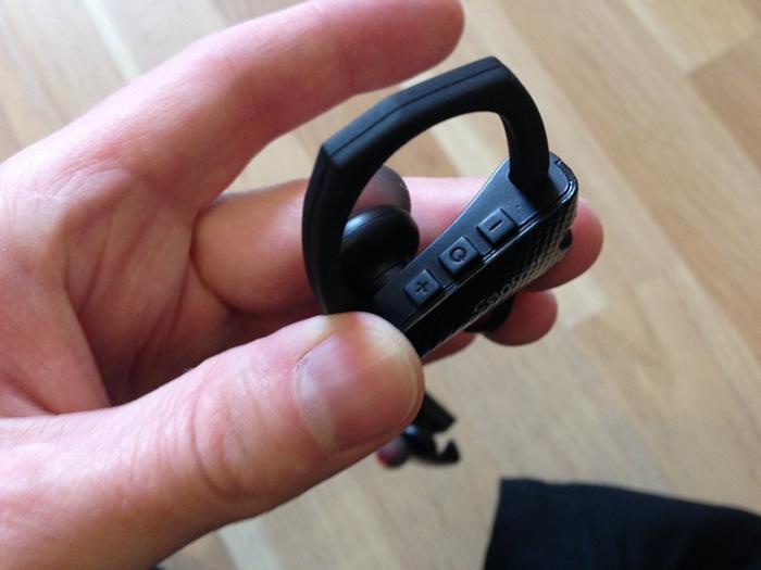 Canbor In-Ear-Kopfhörer Tasten