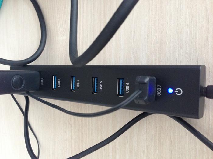 Bild USB-Hub mit 7 Ports von EasyAcc
