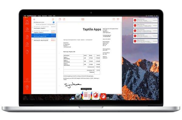 Taptile Rechnungen 2 Rechnungen Auf Dem Mac Erstellen Ekiwi Blogde