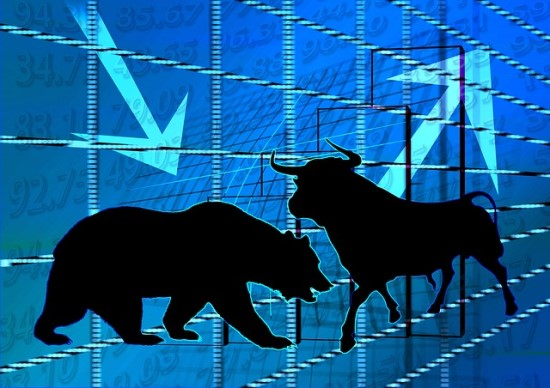 Börse Bulle Stier Charts