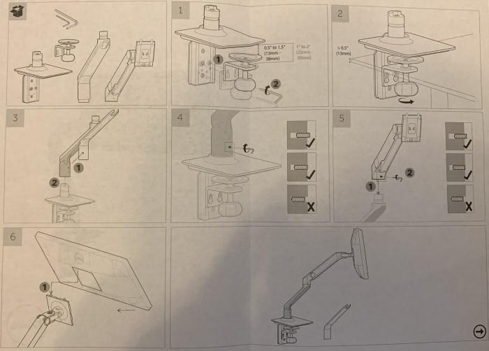 Montageanleitung Schritt für Schritt Monitor-Arm DELL MSA14