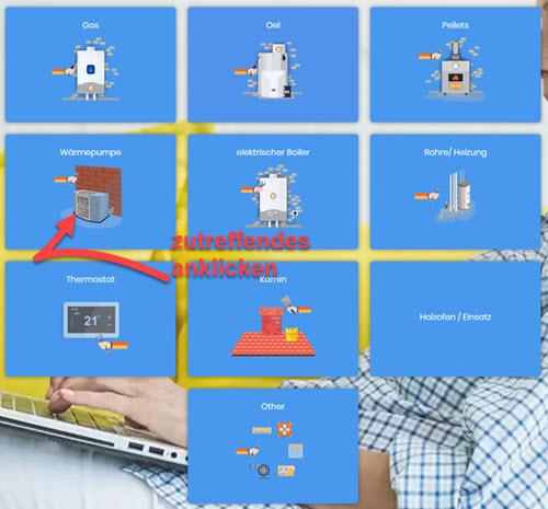 Screenshot Belfix Heizungen